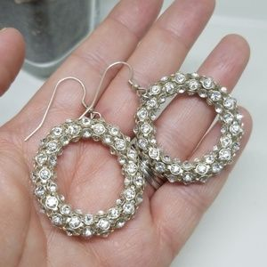 Jewelry - Circular Bling Earrings